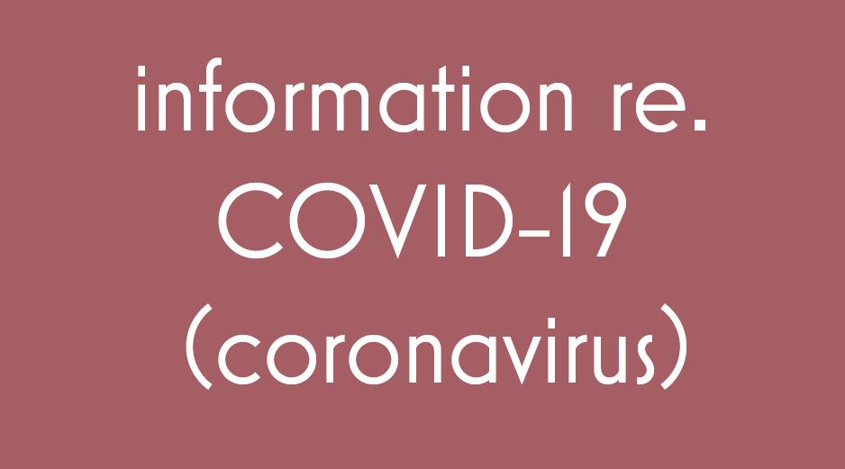 COVID-19 (Coronavirus) Information for Patients